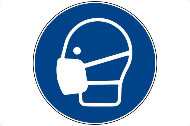 Bild vergrößern: Mundschutz
